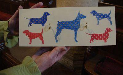 Stencil it spotty dogs 359