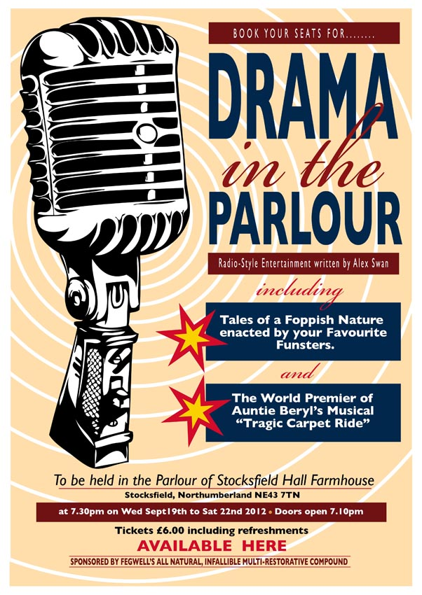 Drama in the Parlour 5 poster