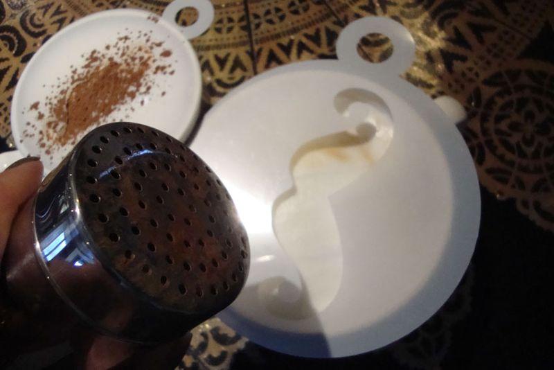 3 shaking cocoa on stencil LR75