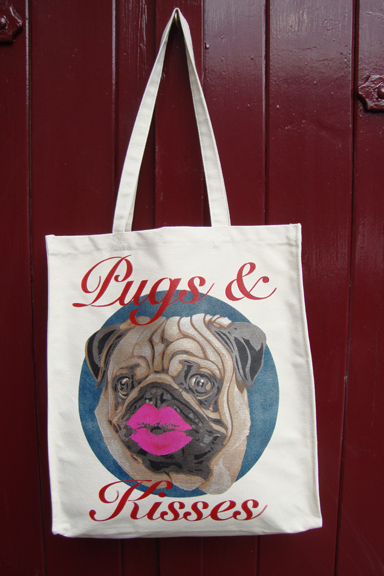 Pugs and kisses bag 81