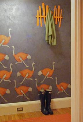 VN ostrich stencil C.Leo