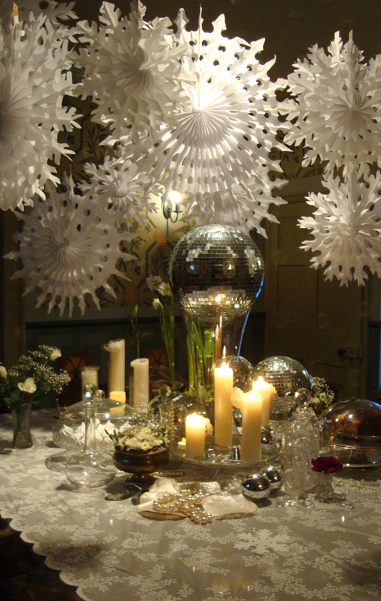 Snowflake and mirrorball table21