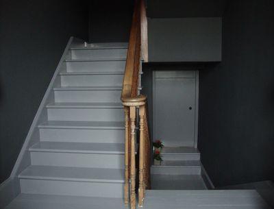 Grey hallway.71