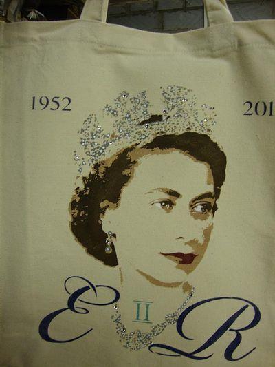 Vintage queen bag 276
