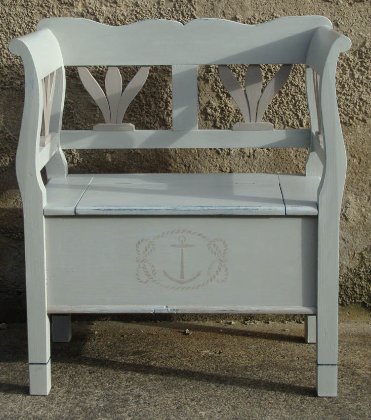 Craster anchor bench 353