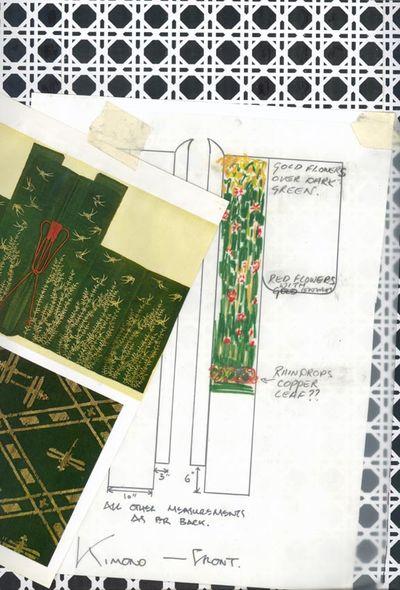 Kimono design and floor em