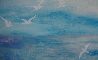 Seagull stencil 71