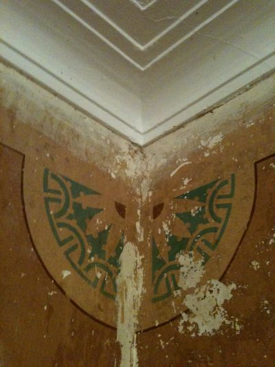Living room stencil