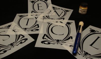 SS.monogram stencils.913