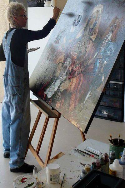 Zebo painting