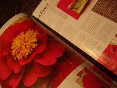 Felt flower fom hmwl mag.