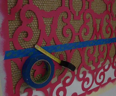 Tape and stencil sisal 65