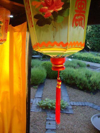 Silk lantern 728