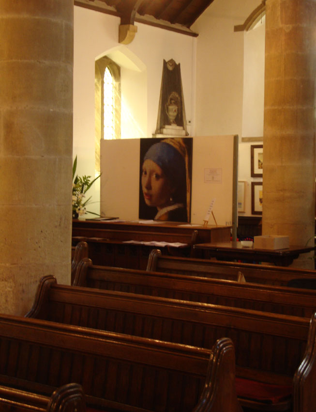Pearl earring at bywell 13. 44