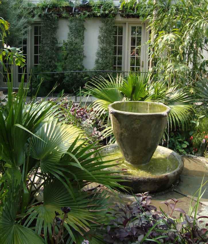 Teacup water fountain 062