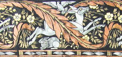 DE15 arts 7 crafts stencil velvet