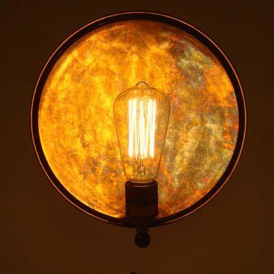Oxidised mullan lighting.826