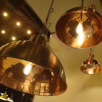 Copper lamps davey.30