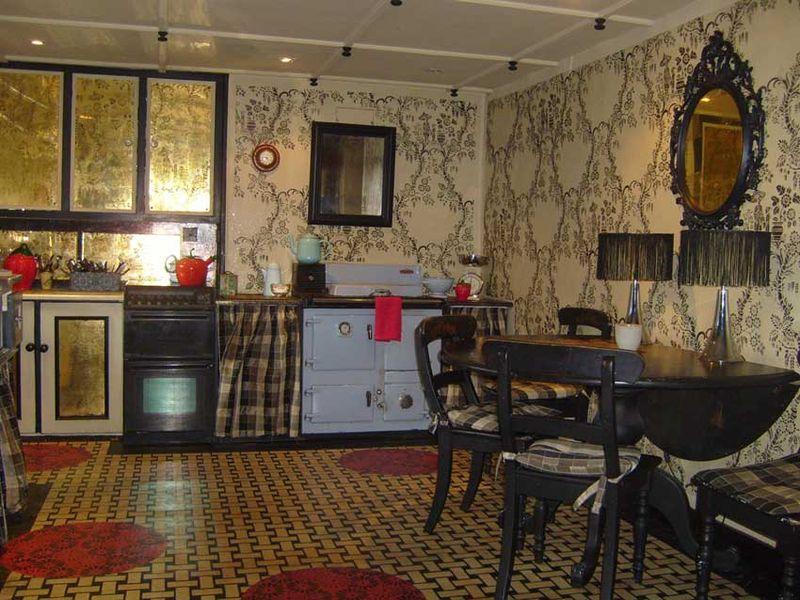 Stencilled kitchen stocksfield 16