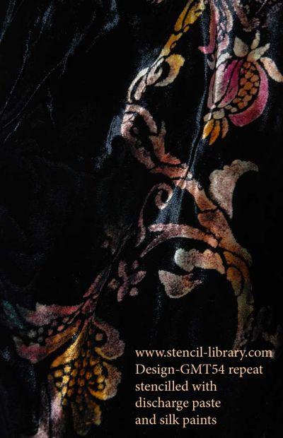 Stencil discharge paste15