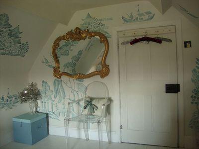 Emmas stencilled wall25