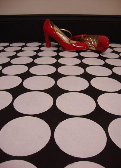 Spot stencil floor 57