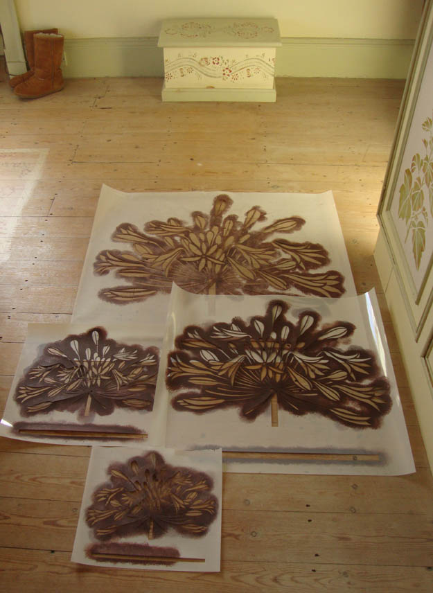 Acanthus stencil giveaway 45