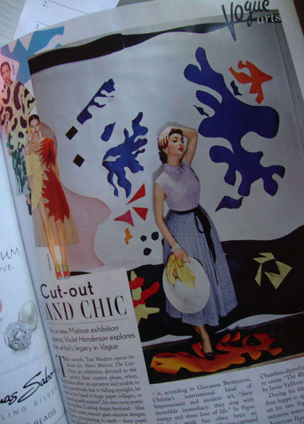 Matisse cut out vogue 69