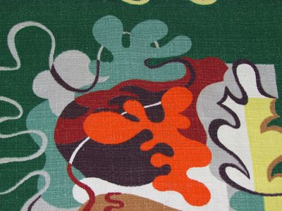 Matisse curtain detail