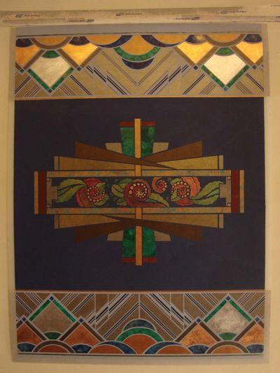 Art deco salon panel 52
