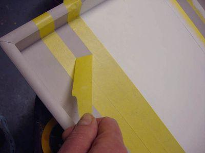 Masking tape stripe 203