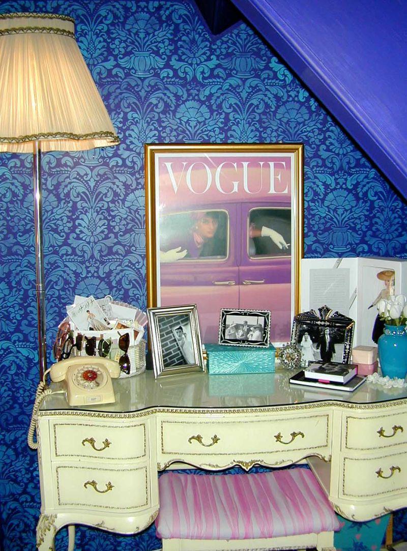 Rachels stencilled bedroom- dresser