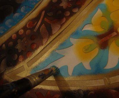 Stencilling 875