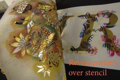 6 pattern over stencil 20