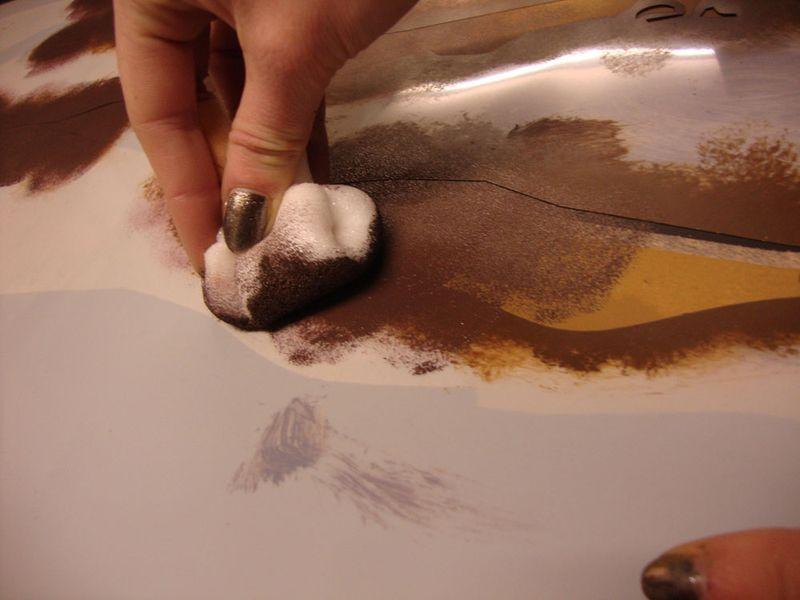 Stencilling david 491