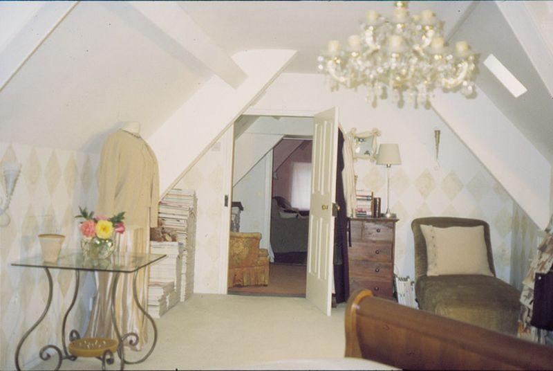 Rachels white bedroom