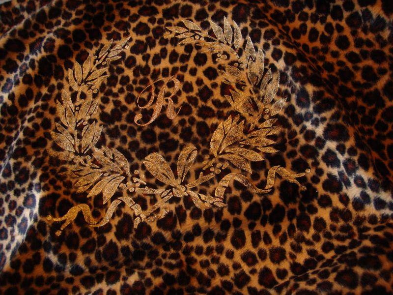 7 stencilled on leopard 62