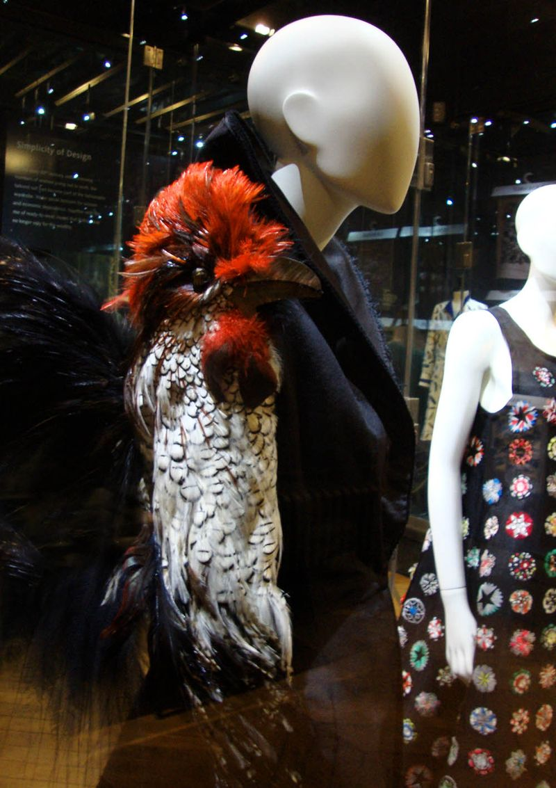Bowes feathers in fashion.63