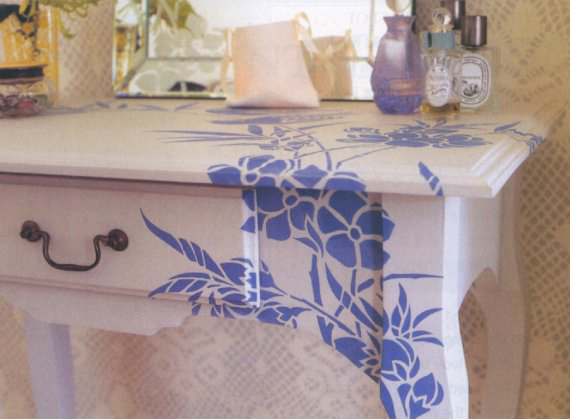 Blossom stencil. Maflin.homestyle 10.05