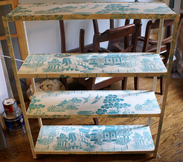 Willow pattern stencil -library mrs jones