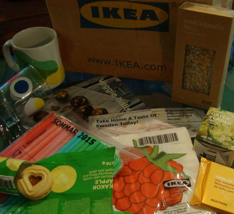 Ikea goody bag
