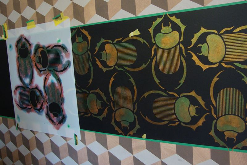 Stencil library beetles74