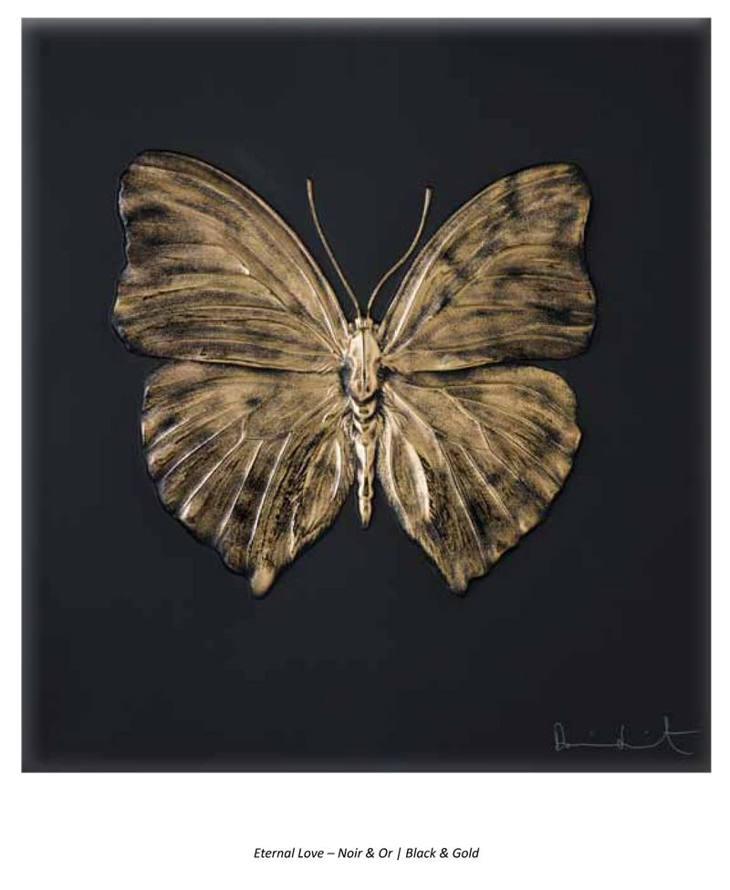 Black Or butterfly lalique