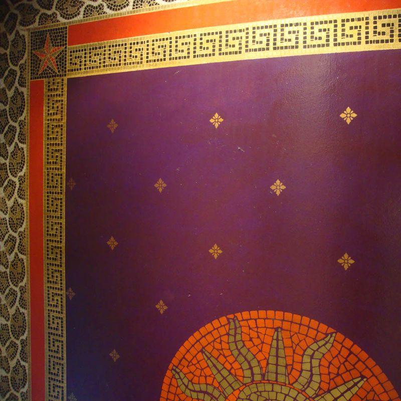 Mosaic stencil 57