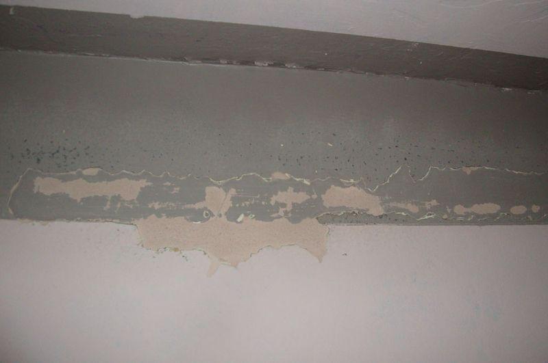 Peeling paint tape.13