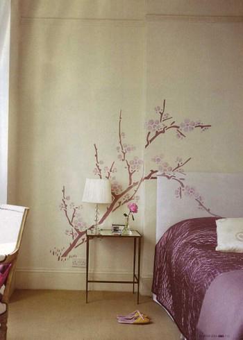 173 large cherry blossom stencil Hm&G