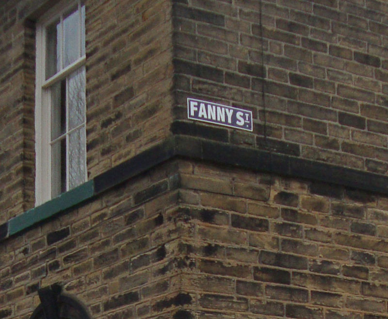 Fanny street saltaire