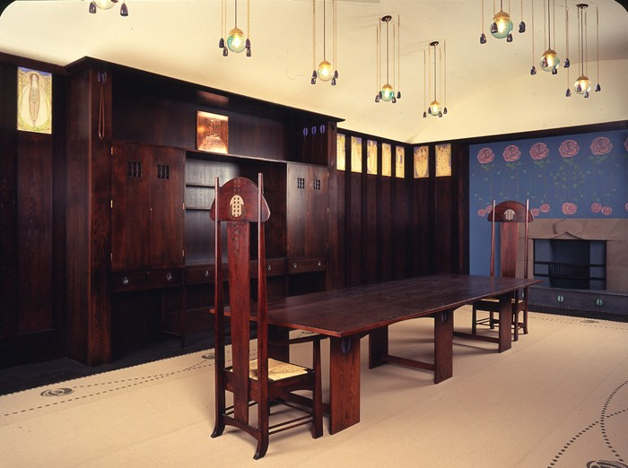 Mackintosh house for an art lover