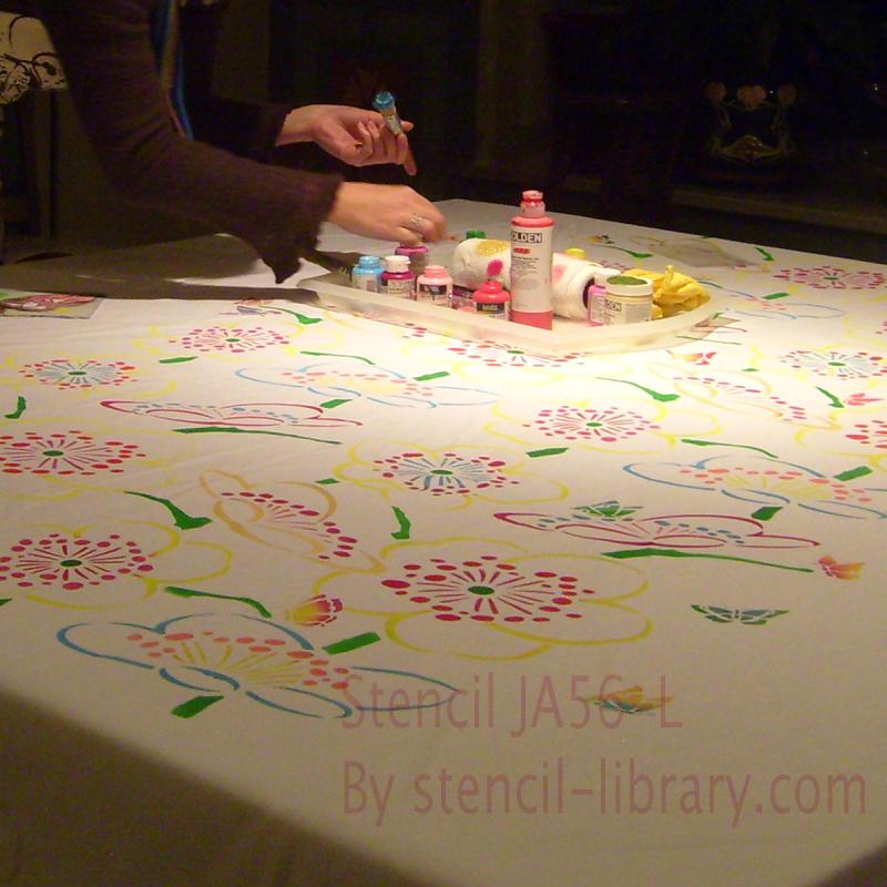 Cherry_blossom_stencil_tablecloth 86