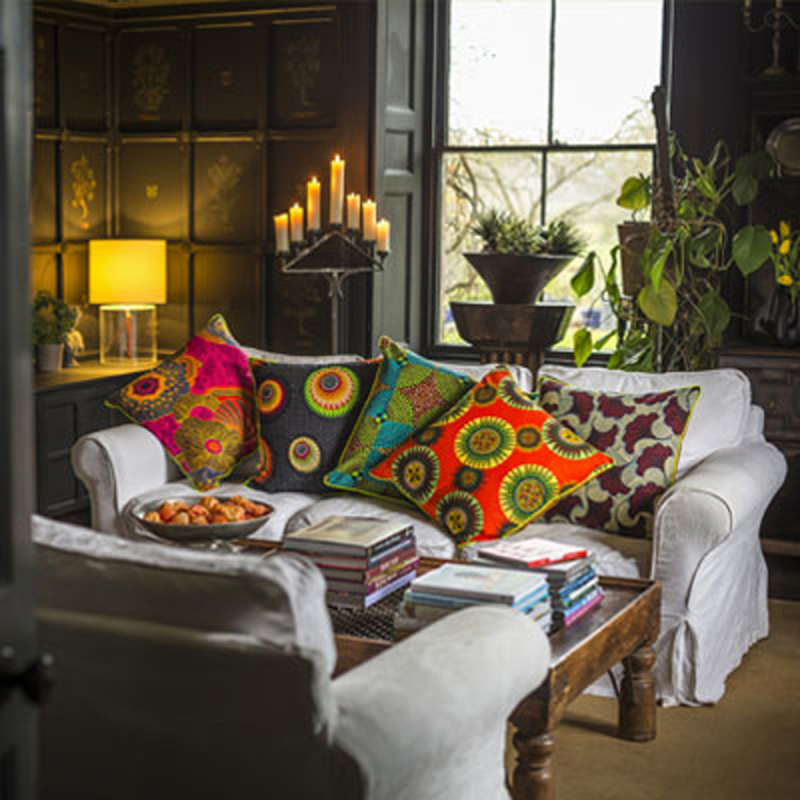 Stencil Library  cushions by RE-found